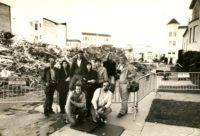 1989 Vicki Sheff in San Francisco covering earthquake
