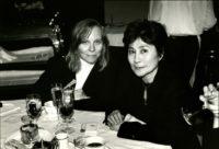 Vicki Sheff and Yoko Ono