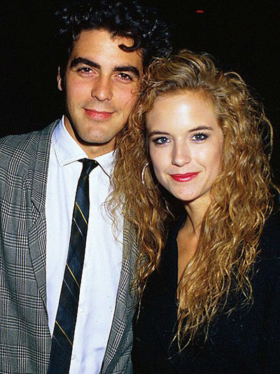 Kelly Preston & George Clooney