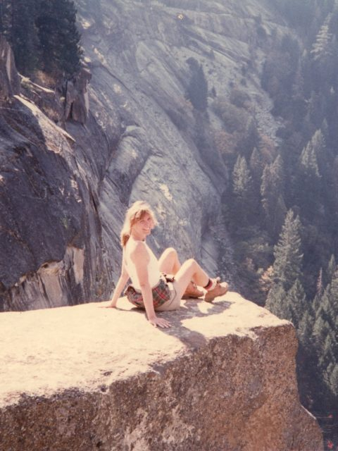 Vicki Sheff in Yosemite